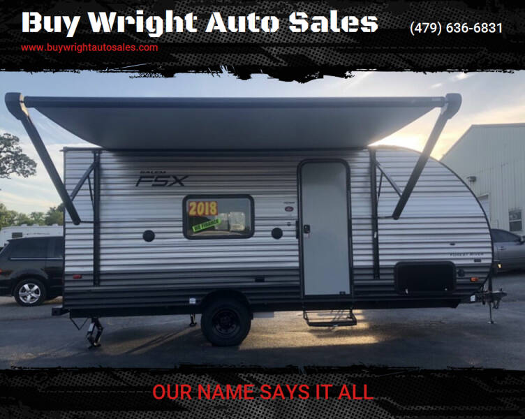 2019 Forest River Salem FSX for sale at Buy Wright Auto Sales in Rogers AR