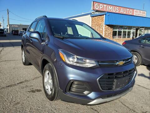 2019 Chevrolet Trax for sale at Optimus Auto in Omaha NE