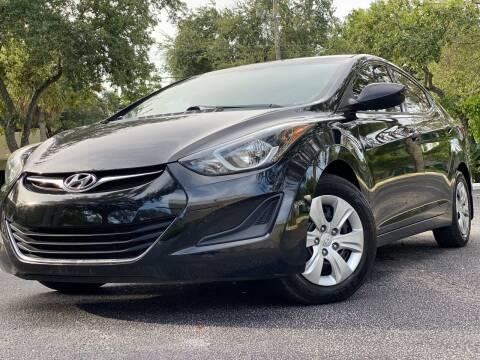 2016 Hyundai Elantra for sale at HIGH PERFORMANCE MOTORS in Hollywood FL