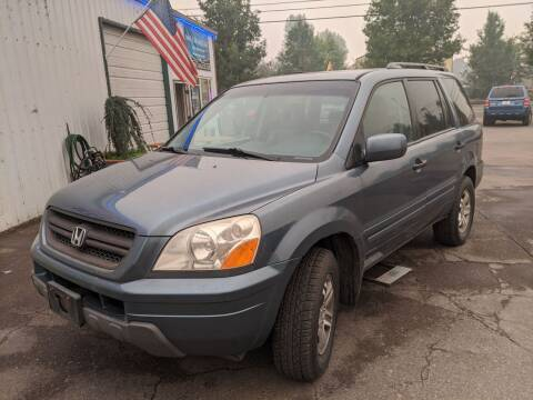 2005 Honda Pilot for sale at M AND S CAR SALES LLC in Independence OR