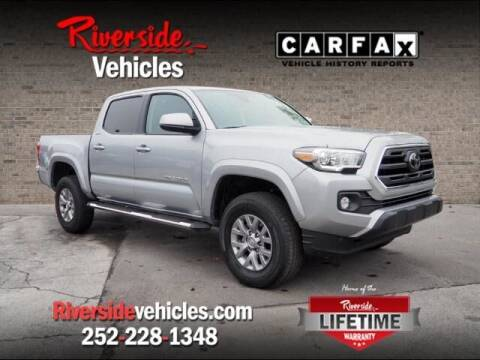 2018 Toyota Tacoma for sale at Riverside Mitsubishi(New Bern Auto Mart) in New Bern NC
