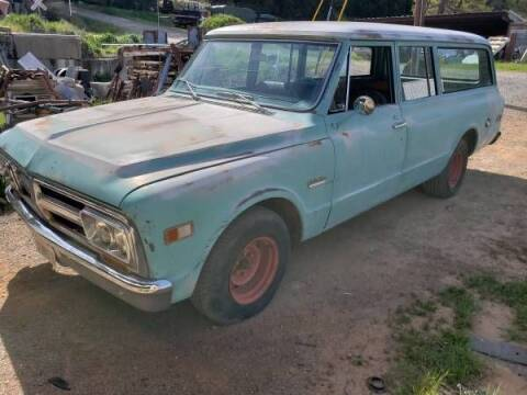 1969 GMC Suburban for sale at Classic Car Deals in Cadillac MI