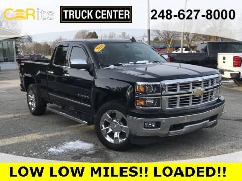 2015 Chevrolet Silverado 1500 for sale at Carite Truck Center in Ortonville MI