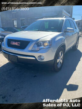 2012 GMC Acadia for sale at Affordable Auto Sales of PJ, LLC in Port Jervis NY