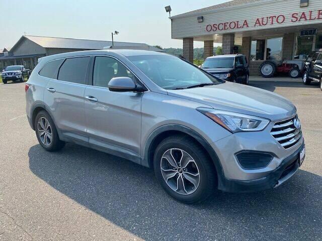 2013 Hyundai Santa Fe for sale at Osceola Auto Sales and Service in Osceola WI
