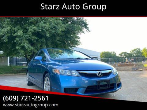 2010 Honda Civic for sale at Starz Auto Group in Delran NJ