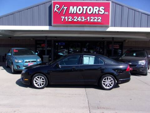 2011 Ford Fusion for sale at RT Motors Inc in Atlantic IA