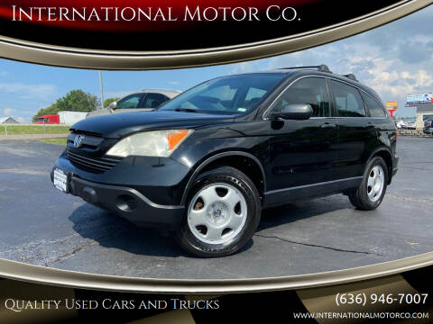 2009 Honda CR-V for sale at International Motor Co. in St. Charles MO
