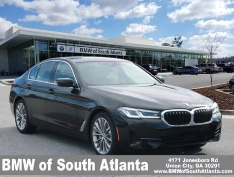 2022 BMW 5 Series for sale at Carol Benner @ BMW of South Atlanta in Union City GA