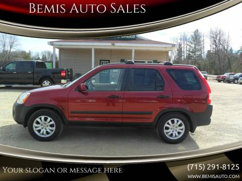 2005 Honda CR-V for sale at Bemis Auto Sales in Crivitz WI