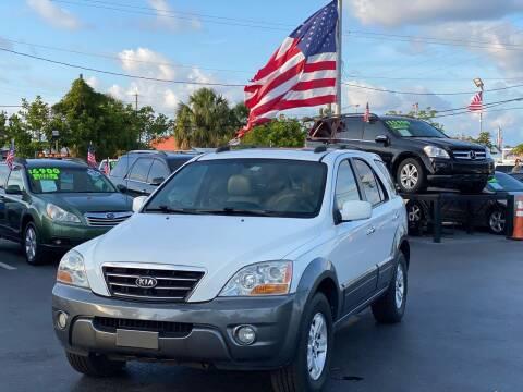 2008 Kia Sorento for sale at KD's Auto Sales in Pompano Beach FL
