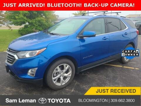 2019 Chevrolet Equinox for sale at Sam Leman Toyota Bloomington in Bloomington IL