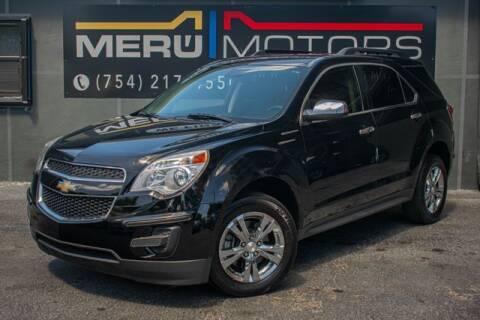 2015 Chevrolet Equinox for sale at Meru Motors in Hollywood FL