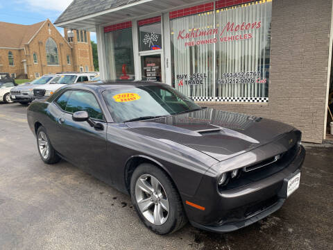 2015 Dodge Challenger for sale at KUHLMAN MOTORS in Maquoketa IA