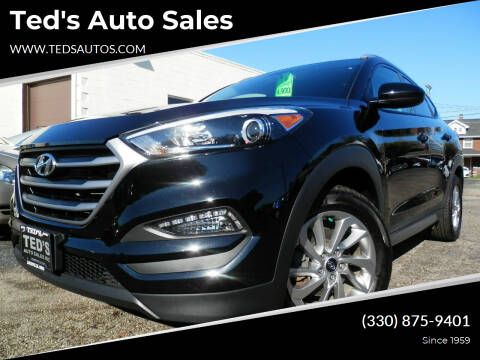 2017 Hyundai Tucson for sale at Ted's Auto Sales in Louisville OH