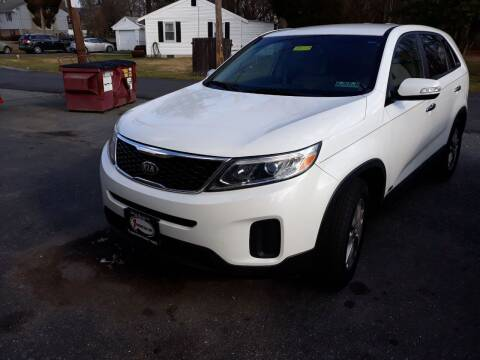 2015 Kia Sorento for sale at GALANTE AUTO SALES LLC in Aston PA