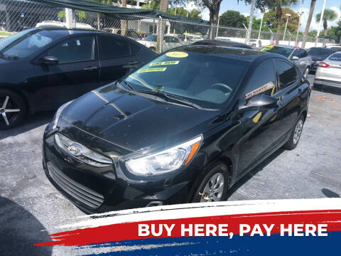 2017 Hyundai Accent for sale at Nationwide Auto Finance in Miami FL