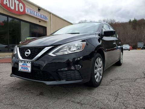 2016 Nissan Sentra for sale at Auto Wholesalers Of Hooksett in Hooksett NH