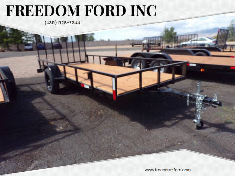 2022 FF OFFROAD 6x14 Single Axle for sale at Freedom Ford Inc in Gunnison UT