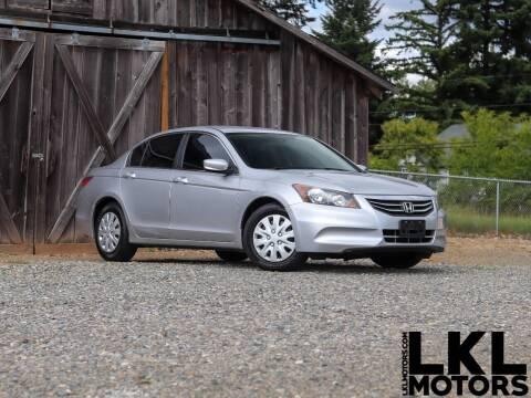 2012 Honda Accord for sale at LKL Motors in Puyallup WA
