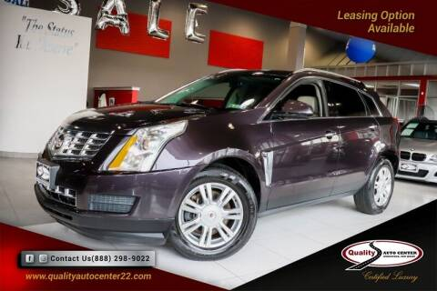 2015 Cadillac SRX for sale at Quality Auto Center of Springfield in Springfield NJ
