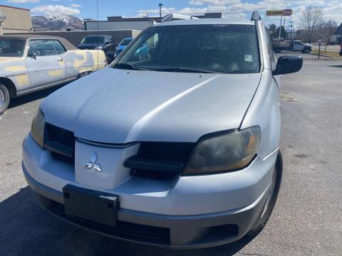 2003 Mitsubishi Outlander for sale at Creekside Auto Sales in Pocatello ID