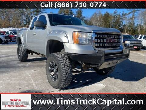 2013 GMC Sierra 2500HD for sale at TTC AUTO OUTLET/TIM'S TRUCK CAPITAL & AUTO SALES INC ANNEX in Epsom NH