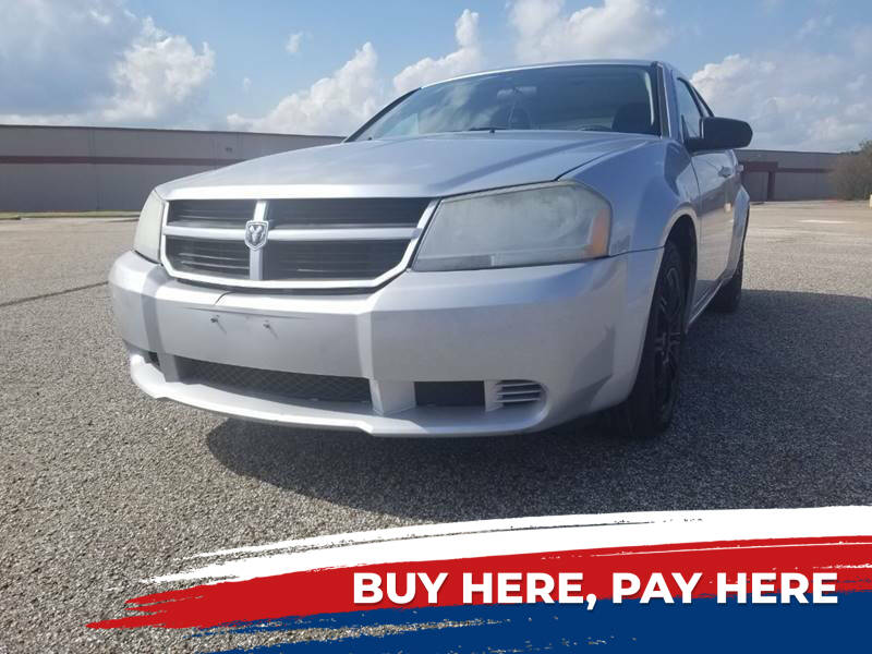 2010 Dodge Avenger for sale at Auto District in Baytown TX