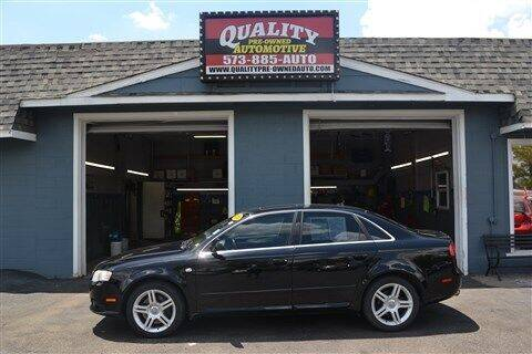 2008 Audi A4 for sale at Quality Pre-Owned Automotive in Cuba MO