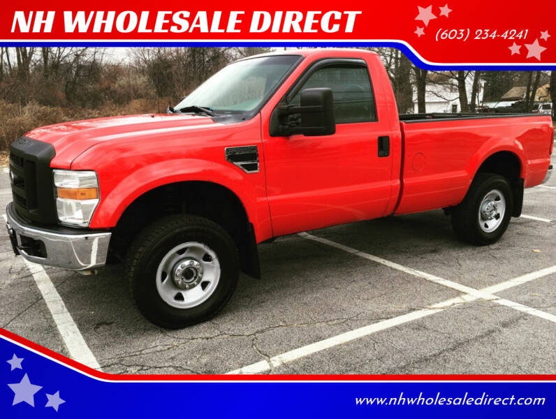 2010 Ford F-250 Super Duty for sale at NH WHOLESALE DIRECT in Derry NH
