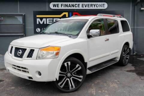 2011 Nissan Armada for sale at Meru Motors in Hollywood FL