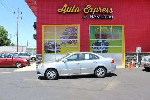 2009 Kia Optima for sale at AUTO EXPRESS OF HAMILTON LLC in Hamilton OH
