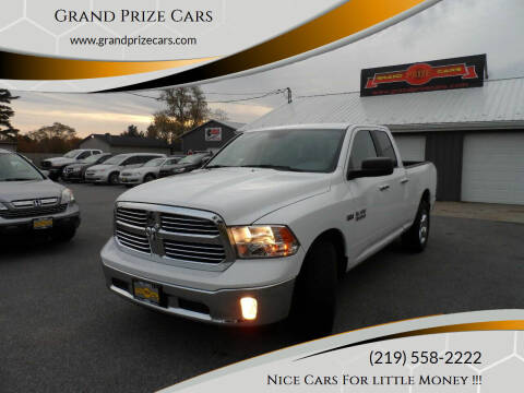 2016 RAM Ram Pickup 1500 for sale at Grand Prize Cars in Cedar Lake IN