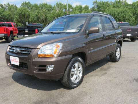 2008 Kia Sportage for sale at Low Cost Cars North in Whitehall OH