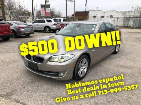 2012 BMW 5 Series for sale at Saipan Auto Sales in Houston TX