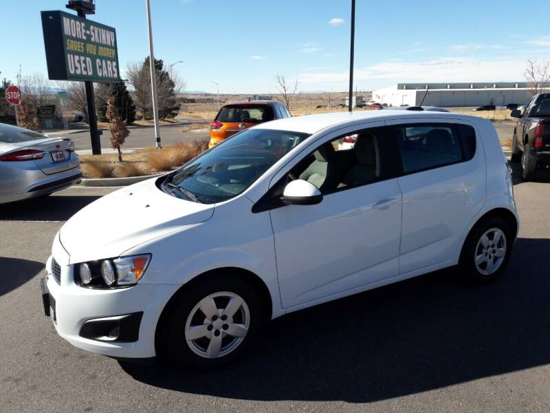 2016 Chevrolet Sonic for sale at More-Skinny Used Cars in Pueblo CO