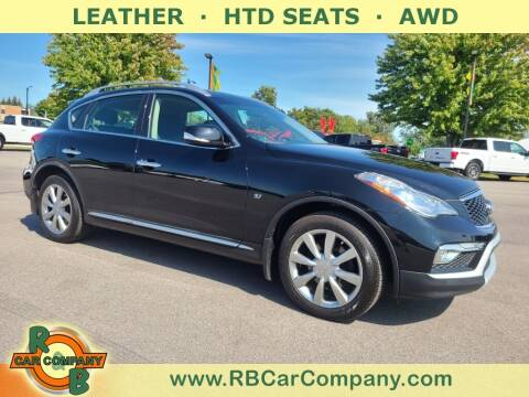 2017 Infiniti QX50 for sale at R & B Car Company in South Bend IN