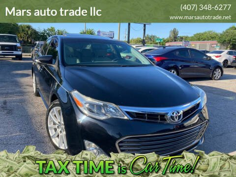 2013 Toyota Avalon for sale at Mars auto trade llc in Kissimmee FL