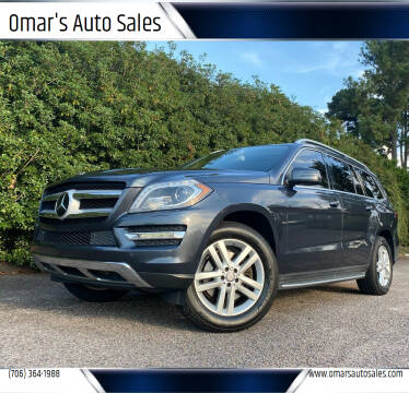 2015 Mercedes-Benz GL-Class for sale at Omar's Auto Sales in Martinez GA