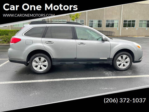 2011 Subaru Outback for sale at Car One Motors in Seattle WA
