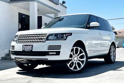2015 Land Rover Range Rover for sale at Fastrack Auto Inc in Rosemead CA