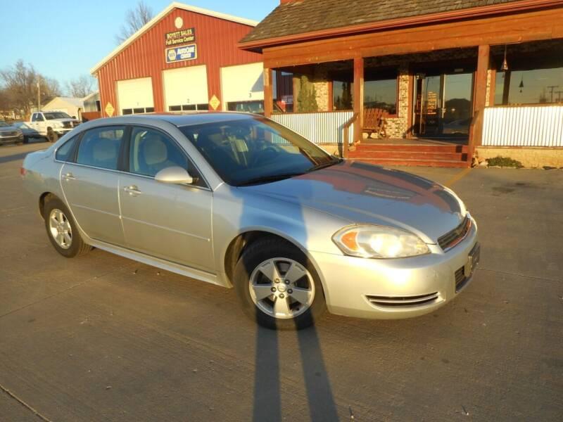2011 Chevrolet Impala for sale at Boyett Sales & Service in Holton KS