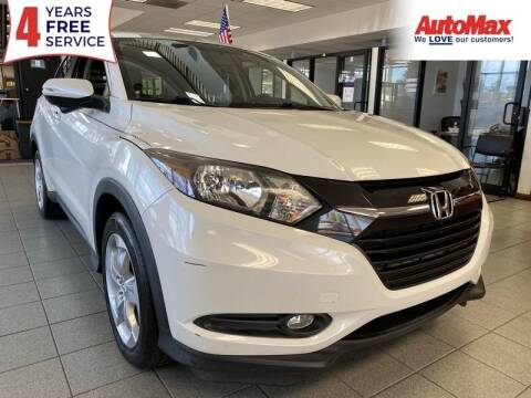 2016 Honda HR-V for sale at Auto Max in Hollywood FL