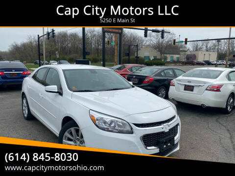 2014 Chevrolet Malibu for sale at Cap City Motors LLC in Columbus OH
