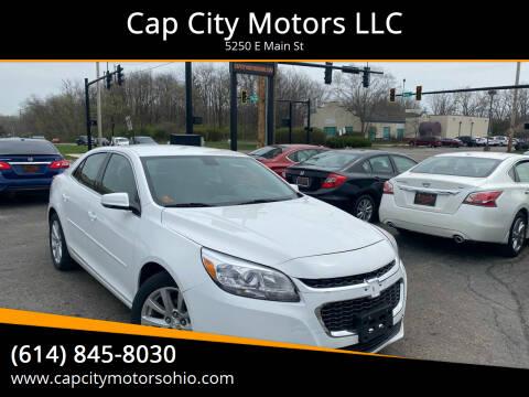 2014 Chevrolet Malibu for sale at Cap City Motors LLC in Columbus OH