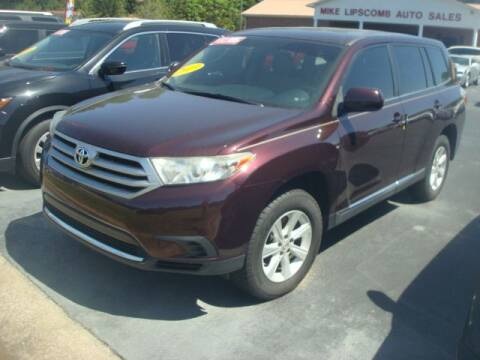 2013 Toyota Highlander for sale at Mike Lipscomb Auto Sales in Anniston AL