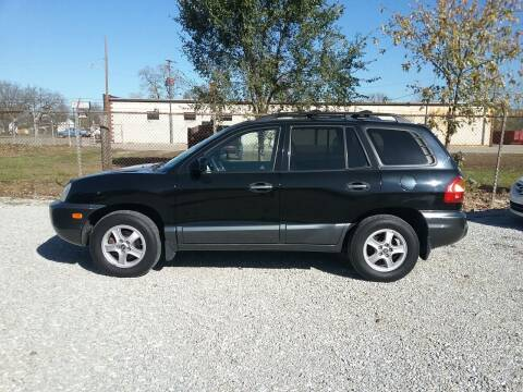 2003 Hyundai Santa Fe for sale at MIKE'S CYCLE & AUTO in Connersville IN
