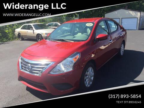 2015 Nissan Versa for sale at Widerange LLC in Greenwood IN