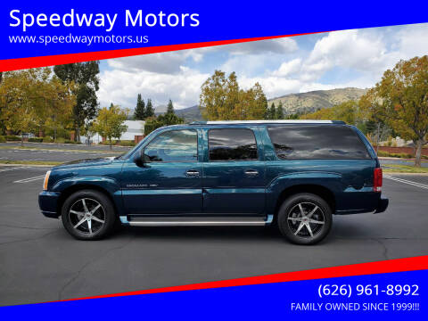 2005 Cadillac Escalade ESV for sale at Speedway Motors in Glendora CA