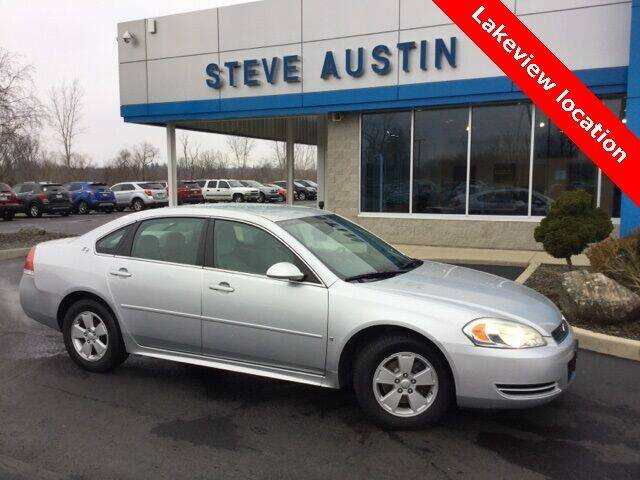 2009 Chevrolet Impala for sale at Austins At The Lake in Lakeview OH